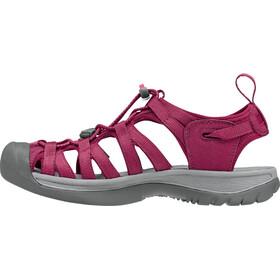 Keen Whisper Sandals Women Beet Red/Honeysuckle